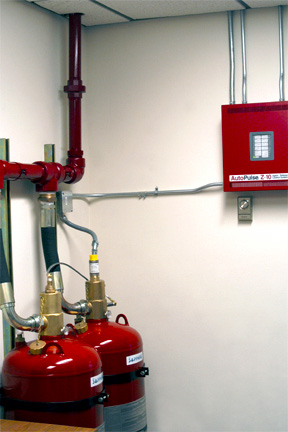 Sapphire Fire SUppression System Installation