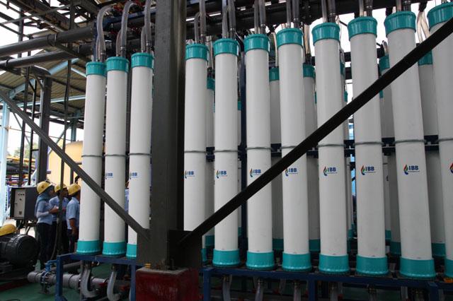 Hyflux UF Kristal Membrane Installed